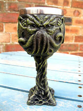 CTHULHU GOBLET WINE GLASS Chalice GOTHIC HP LOVECRAFT Occult PAGAN HORROR