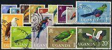 Birds Ugandan Stamps