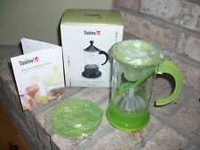 TIMOLIO AROMATIC AUSTRALIAN PRESS COFFEE & TEA MAKER LIME GREEN NEW IN BOX!