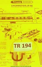 TR194 triang oo X382 1x panto contact/tag/lead for cl em2 electric loco nr xclnt