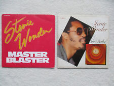 "LOT 2 45T 7"" STEVIE WONDER ""Sir Duke + Master blaster"" §"