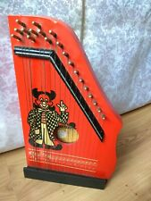 RAR Collectible Musical Instrument GDR Vintage old MUSIMA Small String Harp Lute