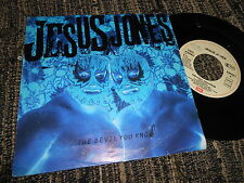 "JESUS JONES The devil you know/Phoenix 7"" 1993 EMI PROMO"
