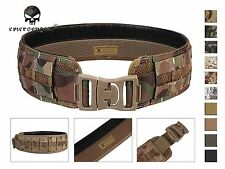 Emerson Molle Load Bearing Utility Belt Airsoft Combat Tactical Belt