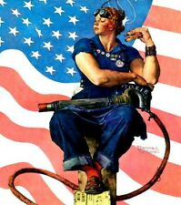 NEW 500 PIECE JIGSAW PUZZLE ROSIE THE RIVETER NORMAN ROCKWELL FACTORY SEALED