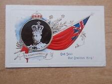 VINTAGE 1911 POSTCARD - H.R.H. KING GEOEGE V - GOD SAVE OUR GRACIOUS KING