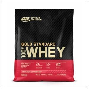 Optimum Nutrition Gold Standard 100% Whey Protein 4.5kg Strawberry