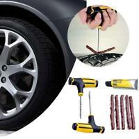 8X Auto Tubeless Reifen Reifenpannen Reparatur Stecker Reparatur Kit Nadel Patch