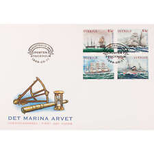 """Schweden Nr. 2098-2101 FDC Ersttagsbrief """"Schiffe"""""""