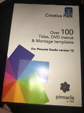 Avid Pinnacle Studio Creative Pack Volume 1 Version 12 Templates And More