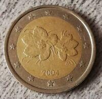 2 Euro Münze Finnland 2004 (Fehlprägung❕)