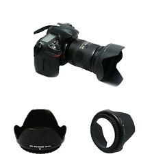 D3200 D5300 Camera Hood 52mm Bayonet for AF-S DX 18-55mm f/3.5-5.6G VR II