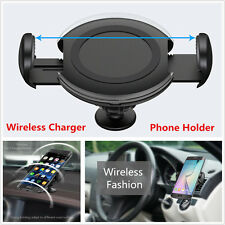 Car Charger Dock Air Vent Dashboard Cell Phone Wireless Charging & Mount Holder