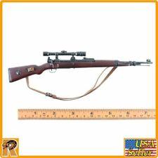 Major Erwin Konig - Wood & Metal Sniper Rifle - 1/6 Scale - DID Action Figures
