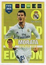 Alvaro Morata Premium Oro PANINI FIFA 365 2016-2017 LIMITED EDITION CARD ☆ ☆ ☆ ☆ ☆