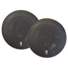 "PolyPlanar MA8505B 5"" 3-Way Titanium Series Marine Speakers (Pair) Black MA8505B"