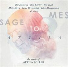 NEW Message to Attila: The Music of Attila Zoller (Audio CD)