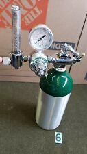 M9 Medical Oxygen Cylinder Tank Empty With Oxygen Regulator 6