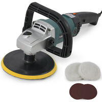 """New 7"""" Electric Variable Speed Car Polisher Buffer Waxer Sander Detail Boat Auto"""
