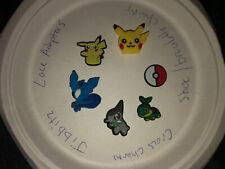 Pokemon Lpt Of 6 Crocs, Bracelet, Lace Adapter Charms, Jibbitz