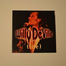 WILLY DEVILLE - Live - 1993 FRENCH-ONLY CDSingle 4-TRACKS