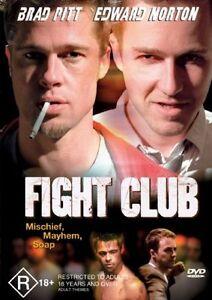 Fight Club : Brad Pitt : NEW DVD