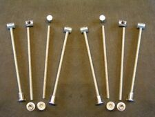 Set of 8 Bed bolts 150mm spare replacement fittings new - FREE POSTAGE