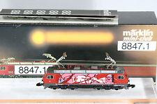 "Märklin Spur Z,  8847,1, ""Graffiti-Lok""  E-Lok Re 4/4 Lausanne. TOP!, OVP"