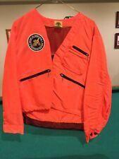 Vintage Ideal Products Upland Game Bird Hunting Jacket Blaze Orange Made Penna