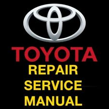 TOYOTA RAV4 1996 1997 1998 1999 2000  FACTORY REPAIR SERVICE MANUAL