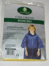Cappotto Pioggia per Bambini Giallo-Esca Per Bambini Poncho Stile Cappotto Di Pioggia