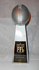 "FANTASY FOOTBALL 14"" REPLICA LOMBARDI SUPER BOWL TROPHY  FREE ENGRAVING!!"