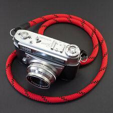 Kameragurt rot schwarz - Schultergurt Kameraseil Kameraband Camera Strap