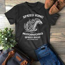 Speed King Motorworks Tee Hollywood California Vintage T-Shirt