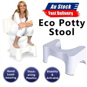 "Healthy Most Comfort Sit and Squat Bathroom Potty 7"" Eco Toilet Stool AU POST"