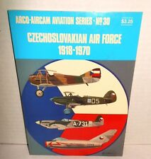 BOOK Aircam Aviation Series #30 Czechoslovakian Air Force 1918-1970 op 1971