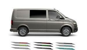 VW Volkswagon T5 T6 wing Side Decals Vinyls Camper Van Stickers