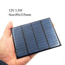 Mini Solar Panel Kit 12V 1.5V Best Portable Standard Small Solar Charger System