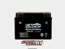 Batterie moto kyoto YTX9-BS Kawasaki ZX - 6RR 600 Ninja 2003 2004 2005 2006