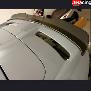 SPOILER EXTENSION WING FOR FORD FOCUS MK3 ST 250 RS (2015-2019) ABS GLOSS BLACK