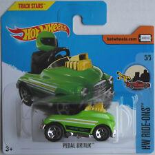Hot Wheels - Pedal Driver / Tretauto grün Neu/OVP