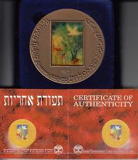 Israel 1993 SELF PORTRAIT /Saul and David by Reuven Rubin Art Medal 70mm Bronze