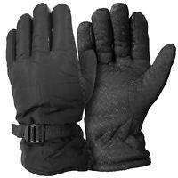 Thick Windproof Outdoor Warm Winter Ski Gloves Men Women One Size