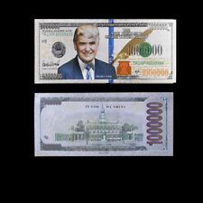 Sliver Banknote Dollar Foil Money Paper Us President Trump Currency Banknotes