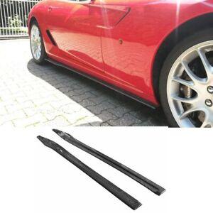 Carbon Fiber Side Skirt Surround fit for Ferrari  599 GTB GTO  2006-2010