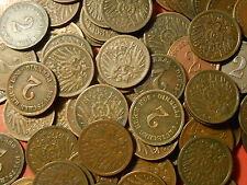 DEUTSCHES REICH GERMANY Kaiserreich 2 pfennig KM#16 1904-1916 choose your coin