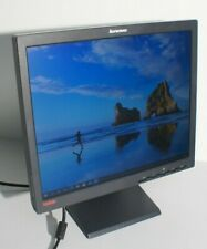 "LENOVO ThinkVision L171 17"" Moniteur LCD PC Affichage ÉCRAN VGA type 9227-AC6"
