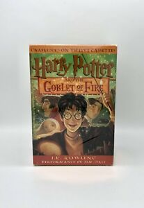 Harry Potter and the Goblet of Fire by JK Rowlinig Twelve Cassettes Un Opened