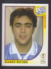 Panini - Korea Japan 2002 World Cup - # 75 Alvaro Recoba - Uruguay