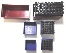Letter Number Stamp Punch Die Steel Metal Stamping Set